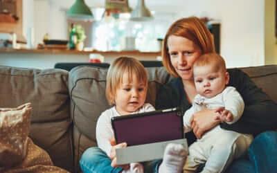 Sådan involverer du dine børn mere i hverdagens rutiner